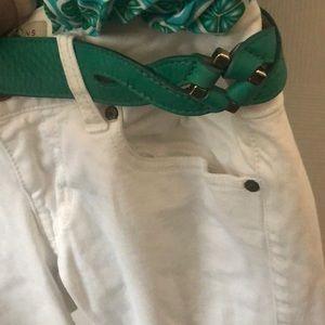 Cute green Cole Haan belt- M